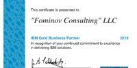 IBM Gold Partnership certificate 2019-page-001